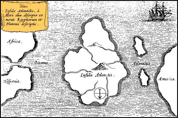 Mapa de Athanasius Kircher
