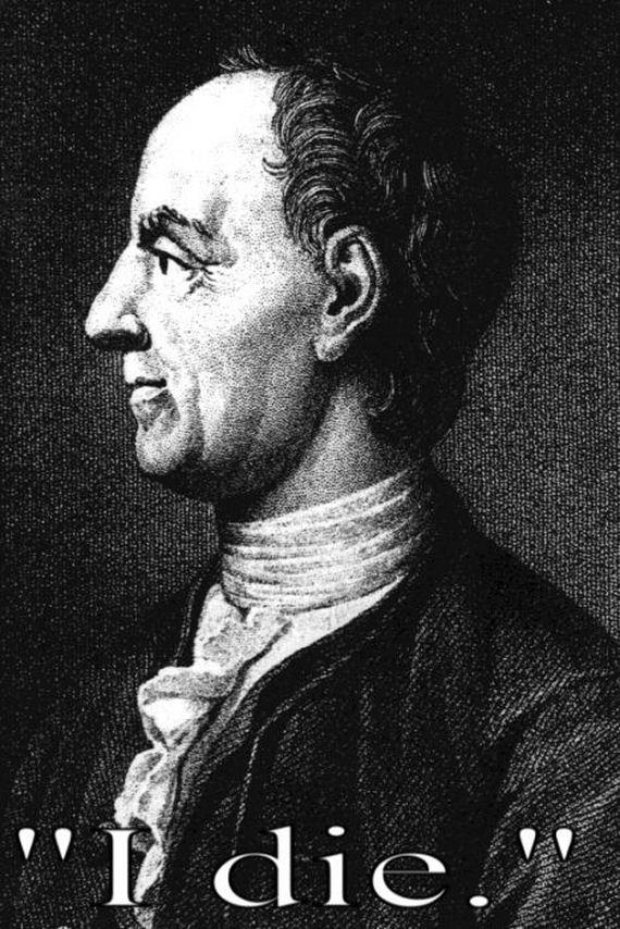 """Leonhard Euler: """"Me muero""""."""