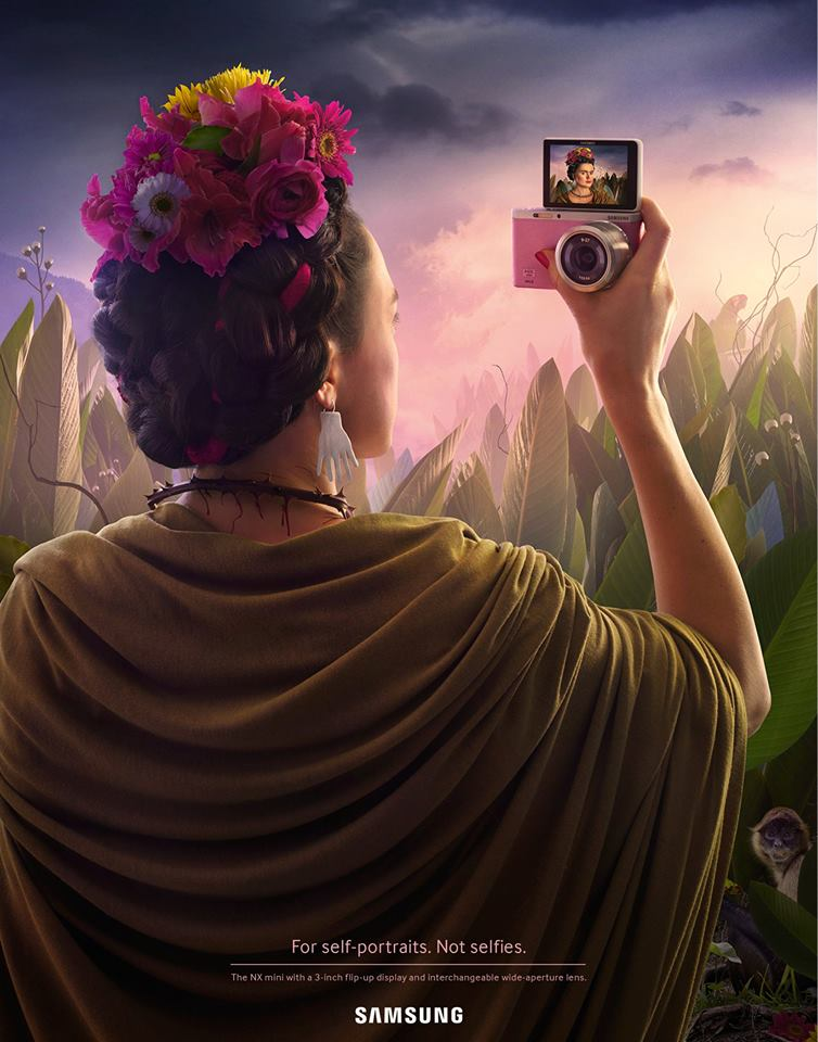 Selfie Frida